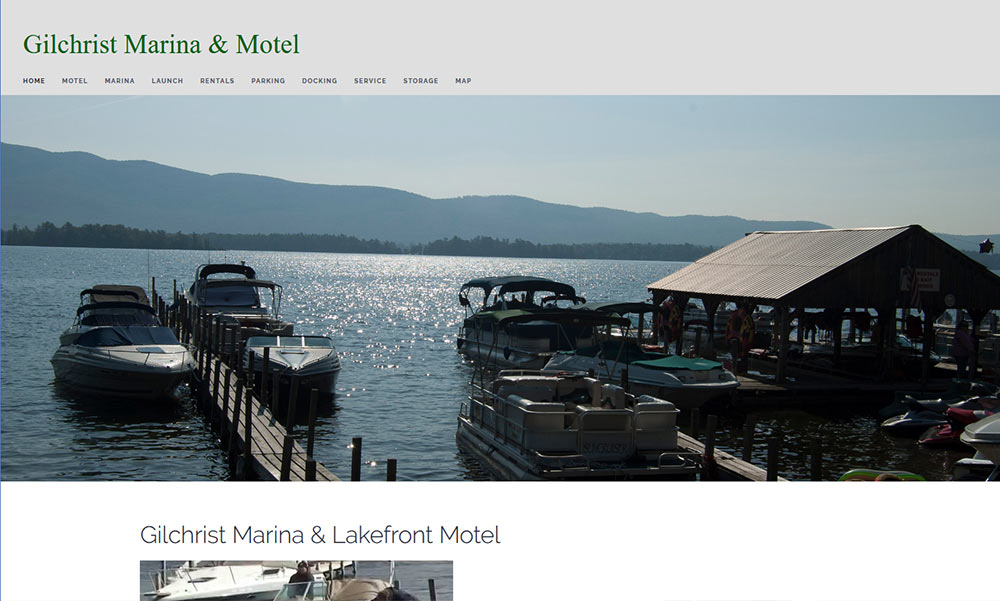 Gilchrist Marina And Motel